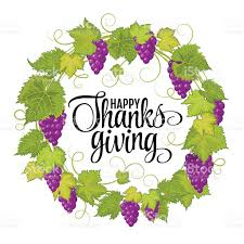 thanksgiving symbol happy thanksgiving with text greeting and autumn leaves vector