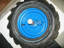 chambre a air motoculteur réparation pneu du staub 2000 reussi