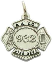 Custom Charm Necklaces Custom Police And Fire Fine Jewelry 3d Badge Pendants