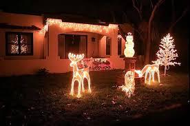 christmas lawn decorations animated christmas lawn decorations outdoors deer chritsmas decor