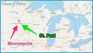 Light Rail Map Minneapolis Minneapolis St Paul Subway Map Travel Map Vacations