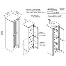 Single Door Pantry Cabinet Systembuild Single Door Storage Pantry Cabinet Free Shipping