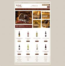 wine list opencart template 41032