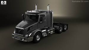 volvo model trucks 360 view of volvo vnx 300 tractor truck 2013 3d model hum3d store