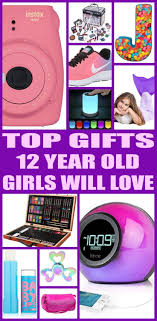 gifts for 12 year