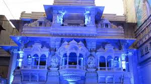 lighting decorative jain mandir at kolhapur youtube