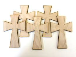 wood crosses for crafts unfinished wood crosses wood cross easter supplies easter craft