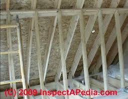 rafter spacing wood framing tables damage repair wood frame construction