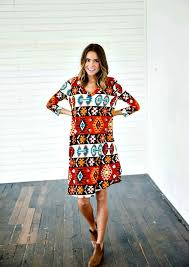 tribal dress sun will shine tribal dress from ella boutique