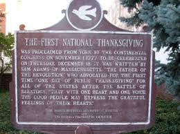 photo the national thanksgiving york pa historical markers