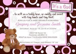 teddy bear baby shower invitations kustom kreations