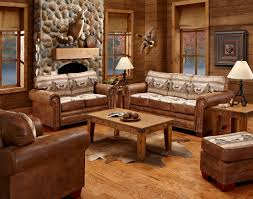 Rustic Leather Living Room Furniture Rustic Sofas And Chairs Tehranmix Decoration