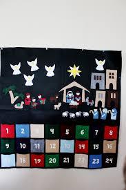 nativity advent calendar guest post felt nativity advent calendar christmas countdown