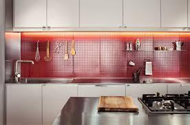 ld1 kitchen by bunker workshop loft kitchen with steel pegboard