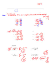 negative exponents worksheet exponent a 5 11 3 8 8 8 ᄡ b 3 5 2 2