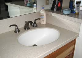 Solid Surface Vanity Tops For Bathrooms by Bathroom Vanity Tops Only Bathroom Decoration