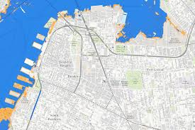 Williamsburg Brooklyn Map Nyc Sea Level Map State Adopts Official Climate Change