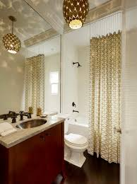 Bathroom With Shower Curtains Ideas by Shower Curtain Ideas For Small Bathrooms Pmcshop