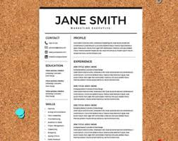 best resume template cv template cover letter ms word on