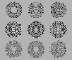 circular ornate celtic ornaments stock vector image 41443687