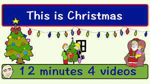 this is christmas english speaking practice esl efl youtube