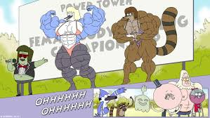 regular show thanksgiving full episode regular show muscle man u0027s back up by atariboy2600 deviantart