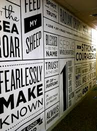 The  Best Office Wall Graphics Ideas On Pinterest Office Wall - Wall graphic designs