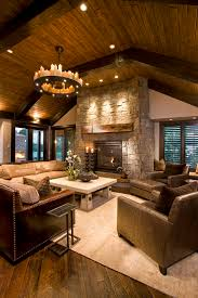 rustic room dividers family room rustic with vaulted ceiling wood