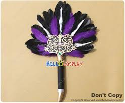 feather fan dynasty warriors 6 sima yi shiba i feather fan prop