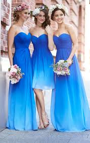 bridesmaid dresses in blue sky blue bridesmaid dresses new wedding ideas trends