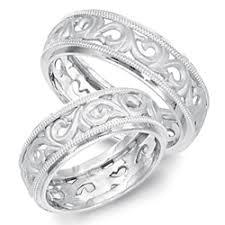 filigree wedding band filigree platinum wedding bands the wedding specialiststhe