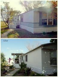 Mobile Home Makeover Ideas by Paint For Mobile Homes Exterior 14 Great Mobile Home Exterior