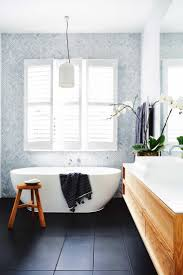 Black And White Tiled Bathroom Ideas Best 25 Dark Floor Bathroom Ideas On Pinterest Bathrooms White