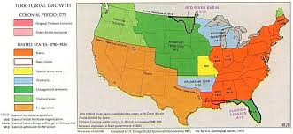 usa map louisiana purchase missouri compromise