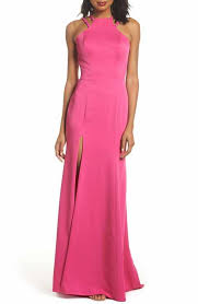 Antiqued Pink And Fuschia Beaded Pink 2018 Prom Dresses Nordstrom
