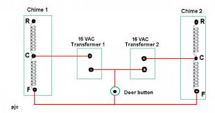 doorbell wiring diagram two chimes gooddy org