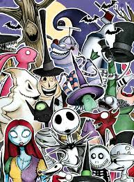 best 25 nightmare before characters ideas on