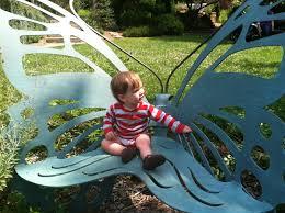 Butterfly Bench Butterfly Bench At River Farm Park Children U0027s Garden U003e U003e The Joy