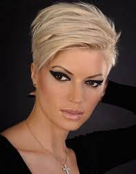 very short hairstyles for women with long faces haircuts black