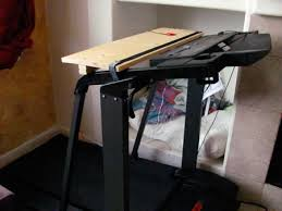 Diy Treadmill Desk Walking And Working I Built Myself A Treadmill Desk 100 Directions