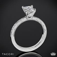 floating diamond ring tacori 45 15 pr sculpted crescent floating crescent diamond