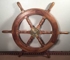 Nagina International Brass Ships Wheel Ebay