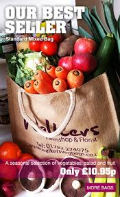 fruit delivered to your door contact walkers farmshop and florist