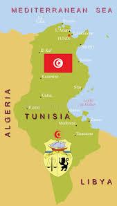 tunisia map tunisia map stock vector image of algeria africa continent