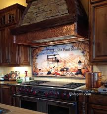 kitchen backsplash murals custom tile ideas and photos tile murals tuscan custom tiles