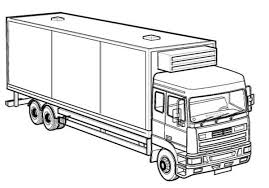 Excellent Ideas Truck Pictures To Color Printable Coloring Pages Coloring Truck Pages