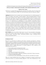 alternating treatment design single subject research method the needed simplification pdf