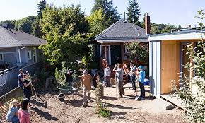 would you put a tiny house for a homeless person in your backyard