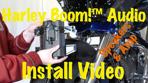 install harley davidson boom audio stage 1 or 2 front fairing