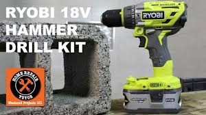 ryobi 18v brushless hammer drill kit affordable power youtube